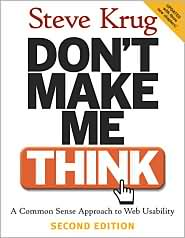 Don't Make Me Think - Book