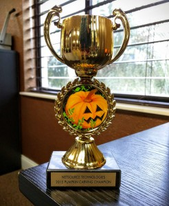 pumpkin trophy