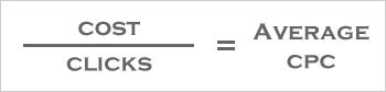 Average CPC Calculation