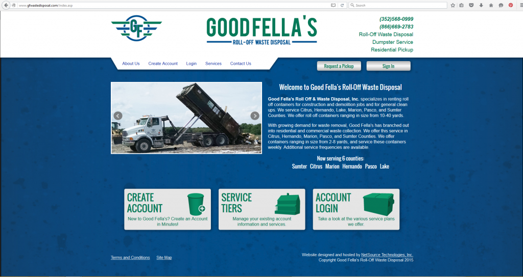 goodfellas site screenshot