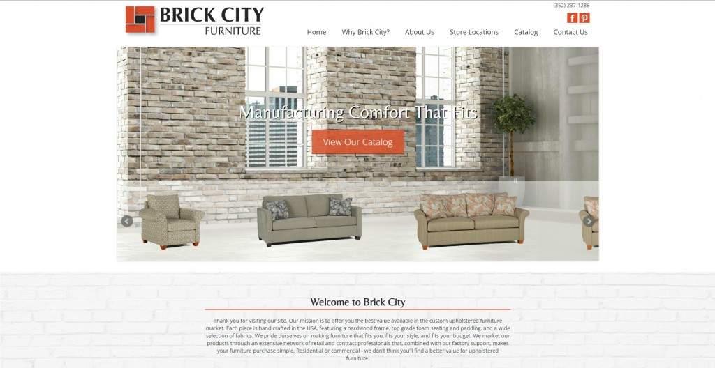 Brick City Launches New Website