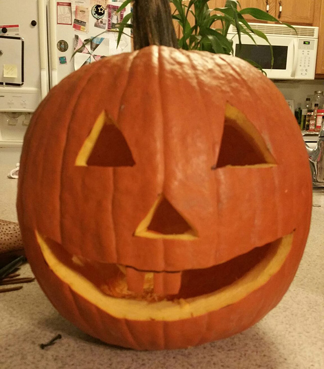 Jack-o-Lantern - by Stacey Shoemaker
