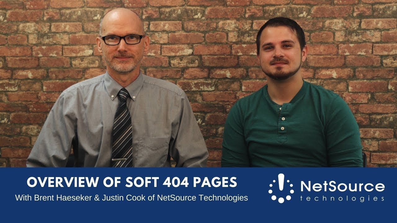 Video Series: Soft 404 Pages – An Overview