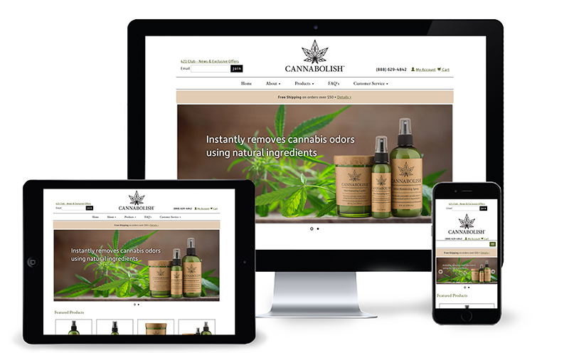 Press Release: Cannabolish Launches New Website