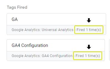 Confirmation of GA4 Tag Firing