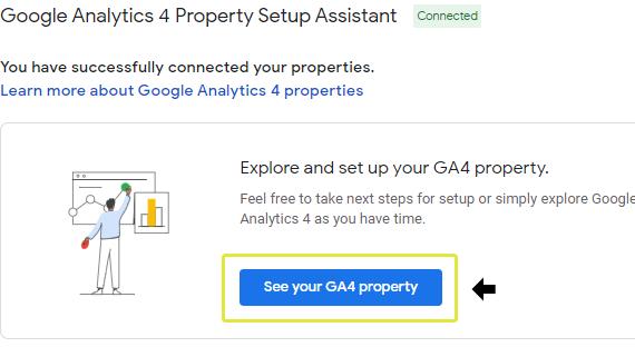 Third GA4 Setup Assistant Screen