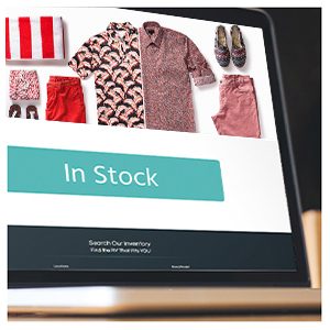 Create an in stock page for a place customers can go to shop inventory you do have.
