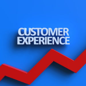 Customer experience can go up even further with customer feedback.